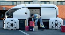 Renault svela EZ-Pro, il sistema logistico composto di veicoli robot che moltiplica i mezzi e riduce il traffico