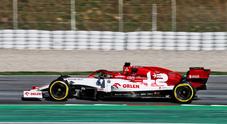 Test a Barcellona, 1° giorno: Kubica vola con l'Alfa Romeo, Vettel promuove la Ferrari