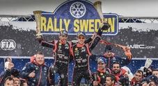 Neuville con la Hyundai domina il Rally di Svezia e conquista la vetta del Mondiale