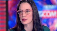 Sabrina Magris in una recente intervista al Tg5