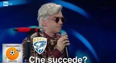 Brescia-Napoli 1-2, le reazioni social