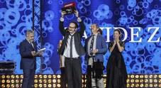 Zilli vince Musicultura 2018 Il ricordo di Frizzi suscita tanta emozione