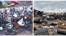 Immagine Tornado negli Usa, morti tra le macerie dell'hotel