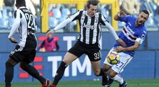 Sampdoria-Juventus, le foto della partita
