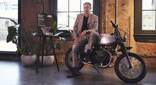 Moto Guzzi protagonista al London Design Festival con la V7 Tomoto firmata Dixon