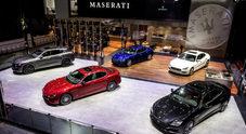 Maserati mette in mostra lusso e sportività tricolore al Salone di Pechino 2018