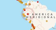 Immagine Perù, scossa magnitudo 8: paura in Brasile e Colombia