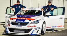 Stefano Accorsi debutta in pista con la Peugeot 308 Racing Cup nel campionato TCT