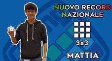 Cubo di Rubik, 14enne romano stabilisce nuovo record italiano: 5 secondi e 63 centesimi