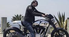 """Keanu Reeves vende le """"sue"""" moto, la KRGT-1 Arch Motorcycles a 78 mila dollari"""