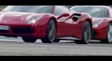 Ferrari, tre talenti si scatenano in pista a Fiorano