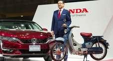 Honda celebra 100 milioni di unità prodotte del leggendario scooter Super Cub
