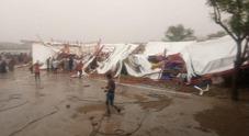 Crolla tendone alla festa religiosa: 14 morti e 50 feriti