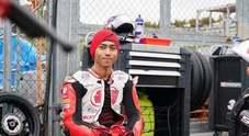 Munandar come Simoncelli, il pilota indonesiano morto sul circuito di Sepang