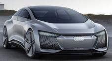 Audi Aicon, la tecnica al volante del futuro. La casa di Ingolstadt mostra come sarà la sua ammiraglia fra pochi anni