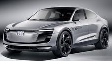 Audi, il fascino di Elaine: 3 motori per vincere. Il concept bavarese anticipa un Suv vicino alla produzione