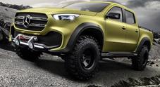 """Mercedes punta al """"Nobel"""" tra i pick-up, ecco X-Class: praticità, innovazione e lusso"""