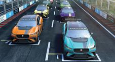 Jaguar lancia il campionato per elettriche di serie affiancato alla Formula E che si correrà con la I-Pace eTrophy