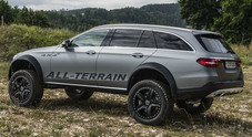 Mercedes Classe E All-Terrain 4×4, il concept di fuoristrada che non conosce ostacoli