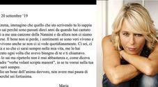 Maria De Filippi e la lettera a Emma Marrone: «Non avere paura ci sarò sempre, ti voglio un bene dell'anima»