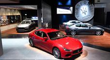 Maserati conquista Francoforte con il lusso sportivo: Ghibli, Quattroporte e Levante sotto i riflettori