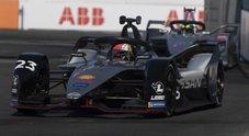 Buemi (Nissan) in pole nel primo E-Prix di New York. Wehrlein (Mahindra) e Linn (Jaguar) subito dietro