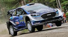 Rally Finlandia, Tanak (Ford) leader dopo lo stage inaugurale. Seguono Neuville e Ogier