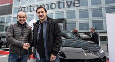 Una Urus per Totti, l'ex capitano della Roma ha scelto il SuperSuv Lamborghini
