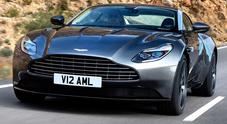 Aston Martin DB11, a Ginevra debutta l'attesa supercar con il nuovo V12 biturbo