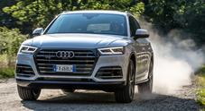 Q5 Phev, l'Audi alla spina. Percorre fino a 45 km al litro ma ha cavalleria da vendere