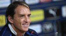 Italia, Mancini: «Ora pensiamo a giugno, difficile fare altri esperimenti»