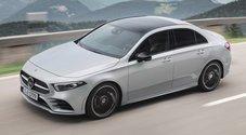 Mercedes Classe A Sedan compatta completa e versatile. Più abitabilità e tutta la tecnologia della Stella