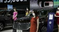 Dopo il covid Wuhan riparte dal salone dell'auto