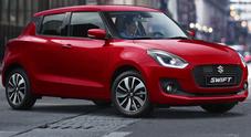 Suzuki, a Ginevra fari accesi sulla nuova Swift: c'è anche nella versione ibrida