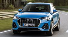 Nuova Audi Q3: è più grande, comoda e tecnologica. Tre motori benzina e uno diesel tutti 4 cilindri turbo