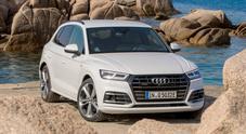 Audi Q5 55 Tfsi e quattro, alte prestazioni e maggiore sostenibilità. In solo elettrico arriva fino a 45 km