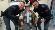 Immagine Nonno Giuseppe al gelo: salvato da due poliziotti