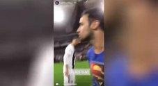 Supercoppa italiana, invasione di campo e selfie con Ronaldo: tutto in diretta Instagram