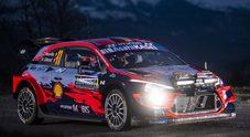 Rally di Montecarlo, Neuville con Hyundai in testa dopo le prime due speciali