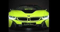BMW i8 roadster limelight edition, la personalizzazione che coniuga design, esclusività e sostenibilità