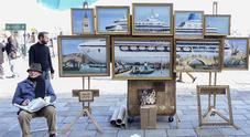 Ivo Papadia, l'80enne ex prof della Lega diventato un'opera d'arte grazie a Banksy
