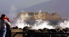 Vento forte e mare agitato, allerta meteo in Campania