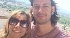 Marco Guiotto con la moglie