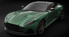 Aston Martin celebra con DBS 59 la vittoria a Le Mans 1959. Solo 24 esemplari sviluppati dalla Superleggera