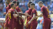Roma-Chievo, le foto della partita