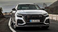 Audi RS Q8, una super sportiva travestita da Suv coupé: 600 cv e 305 km/h. Prestazioni mozzafiato e comfort extralusso