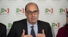 I tre 25 aprile del Pd. Zingaretti alla testa del corteo di Milano