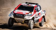 Toyota del leader Al-Attiyah domina 9^ tappa e consolida primato. Price (KTM) sempre in testa tra le moto