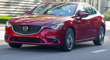 Mazda6 my 2017, debutto europeo in autunno puntando su tecnologia e sicurezza