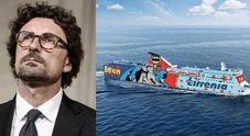 Immagine Toninelli contro la Tirrenia: «Basta con i monopoli»